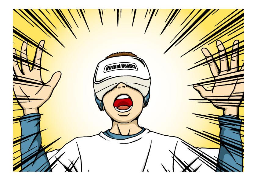 VR(バーチャルリアリティ)